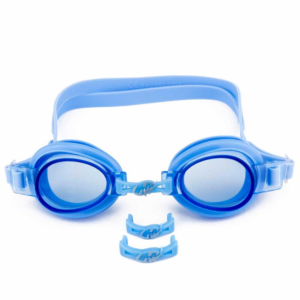 f9fea07889e9f Óculos de Natação Focus Junior 3.0 Azul Hammerhead - ComercialSaoPaulo