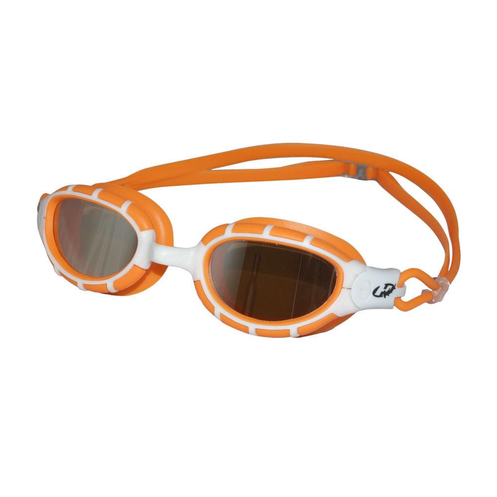 72e0453cd Óculos de Natação Fusion Mirror Laranja e Branco HammerHead ...